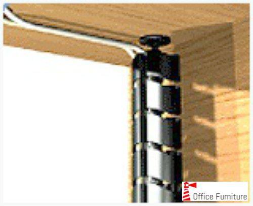 Desk Cable Storage Vertical