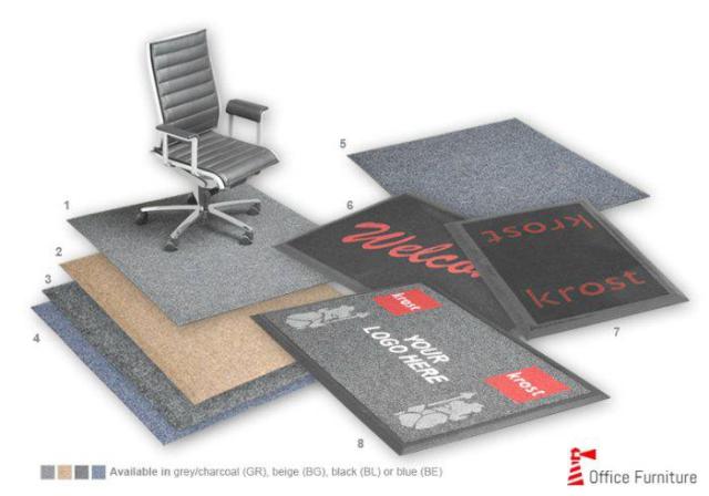 Chairmate Eco Fibre Carpet Protectors