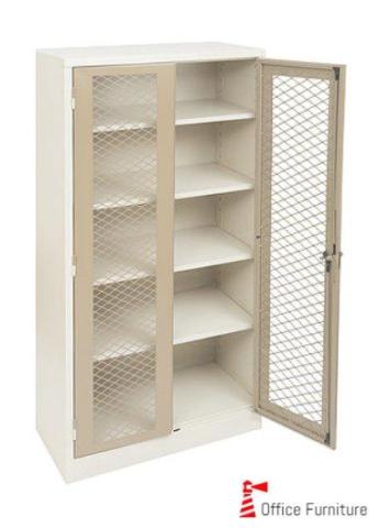 1800 Stationery Cabinet Mesh Doors