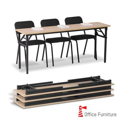 Steel 1800 Training Table Folding
