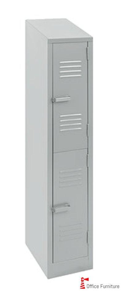 Steel 2Tier 2Door Locker