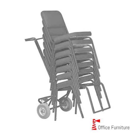 Steel Chair Stacker Trolley