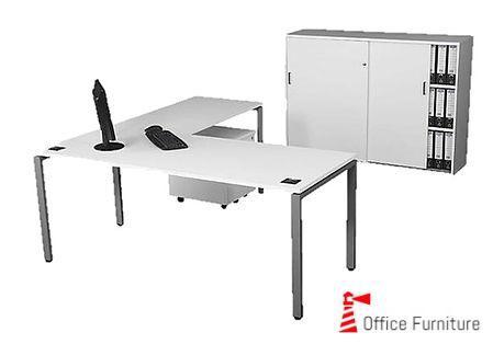 Steel Managerial Desking Cabinet