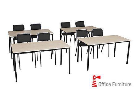 Steel Training Tables Rectangular 1370