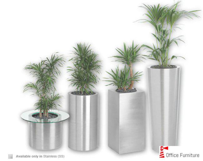 Office Pot Planter Premier Steel