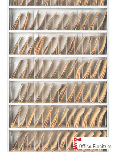 Bulk filing lateral shelf files