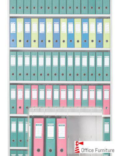 Bulk filing lever arch files