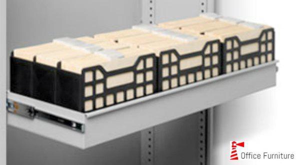Bulk filing pullout drawer