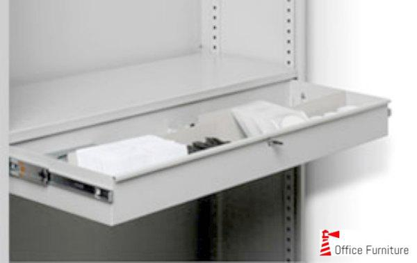 Bulk filing pullout stationery drawer