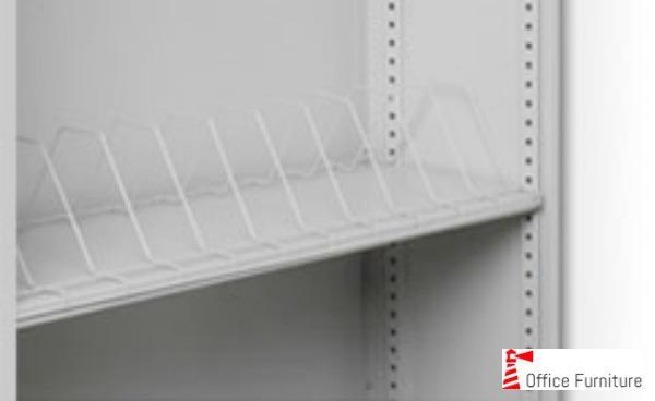 Bulk filing shelf wire rack
