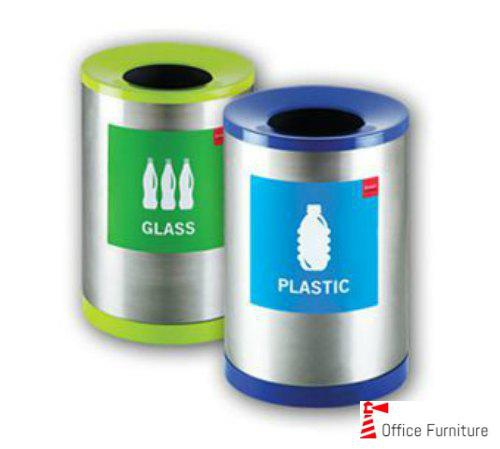 Recycle Bins Glass Plastic