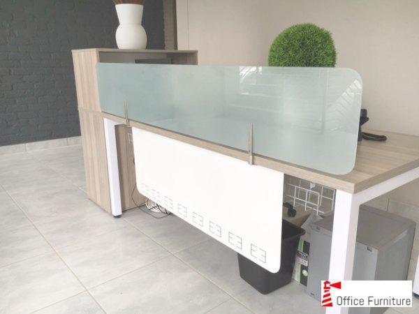 Desk Screen Glass